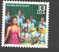 US. 3186 j. 33c. Big Band Sound. Celebrate The Century