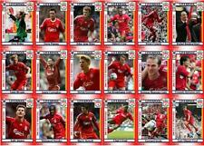 Liverpool FC 2006 FA Cup winners football trading cards