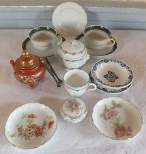 ensemble dinette diverse poupée porcelaine Limoges et faience