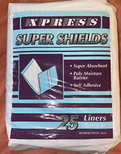 "Xpress 1 Pack Super Shields Adult Liners Self Adhesive 4"" x 10"""