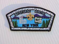 ULTRA RARE ADIRONDACK COUNCIL STRIP 1980 OLYMPICS LAKE PLACID NY BOY SCOUT PATCH