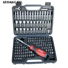 Kravm E06012 Set Destornillador Completo 142 Piezas en chrome Vanadio Gris