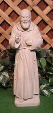 Saint Padre Pio Friar Italian Priest Latex Fiberglass Production Mold Concrete
