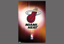 MIAMI HEAT BASKETBALL Official NBA Team Logo Wall POSTER