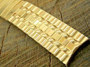 Vintage NOS Admiral Unused Watch Band 17.5mm Gold Filled Expansion Mens Bracelet