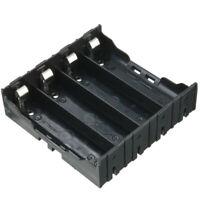 10PC 18650 Batterie 4X5 Zelle Spacer Strahlende Shell Kunststoff Halter Hal W6G3