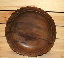 Vintage hand made wood bowl