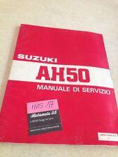 Suzuki AH50 AH 50 scooter manual revisión técnica taller Ed. 92 Italiano