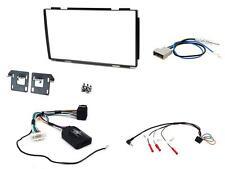 CONNECTS 2 ctkns 03 NISSIAN QASHQAI 07 - 13 COMPLETO Stereo Doppio DIN Kit di montaggio