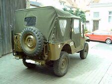 willy's JEEP cj-5, jeepverdeck, COMPLETO winterverdeck AUS U. S. CANVAS