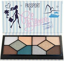 Coastal Scents PASSPORT to Rio 10 Color Eyeshadow Palette New in Box Great Gift