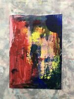 Hasworld Original,painting,signed,Impressionism,abstract expressionism cave art