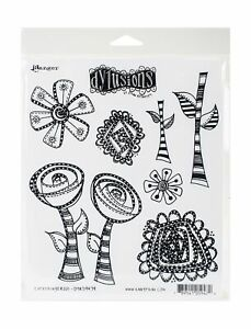 Ranger Everything's Rosy Dyan Reaveley's Dylusions Cling Stamp Collections, 8...