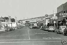 "5x7"" photo RICHFIELD TEXACO CHEVRON STANDARD GAS STATION BARSTOW,Ca. ST. SCENE"