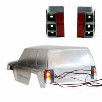 Auto LED Licht Halterung Housing für Axial SCX10 II AX90046 90047 1:10 Crawler