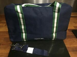 NEW LACOSTE WEEKEND BAG / TRAVEL BAG / GYM BAG / DUFFEL / HOLDALL FREE DELIVERY