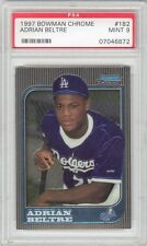 Adrian Beltre Rangers 1997 Bowman Chrome #182 Rookie Card rC PSA 9 Mint QUANTITY