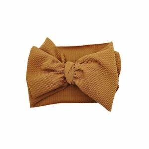 Stylish Baby BOW Head Band Baby Head Wrap Large Bow Knot