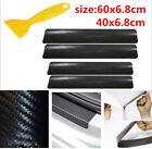 Parts Accessories Carbon Fiber Car Scuff Plate Door Sill 4d Sticker Protector