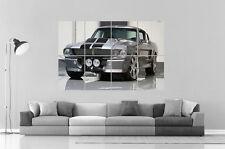 Mustang Shelby GT 500 Eleanor  Wall Art Poster Grand format A0 Large Print
