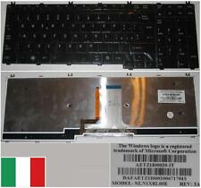 Clavier Qwerty Italien TOSHIBA Satellit A500 AETZ1I00020-IT 9Z.N1X82.00E Backlit