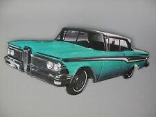 G3789: Nostalgia Metal Sign, Old Car, Youngtimer, Motorsports Shield 26x58