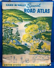 RAND McNALLY Special ROAD ATLAS - Canton Hardware - Canton, Ohio -1951