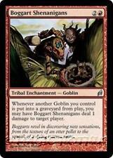 BOGGART SHENANIGANS Lorwyn MTG Red Tribal Enchantment — Goblin Unc
