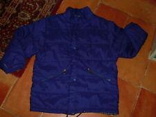 """BLOUSON matelassé garçon """" LES AVENTURIERS """", T8/9A, bleu, polyester + coton"""