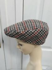 Vintage checked men flat Cap size 59 cm****