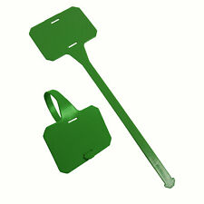 Metal & X-Ray Detectable Super X Plastic Tags Green 265mm Long Pack 25