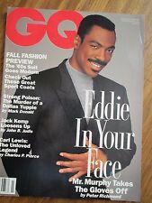 GQ US 7/1992 Eddie Murphy HERB RITTS Peter Gallagher CHRISTINA APPLEGATE Zahedi