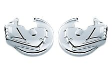 Honda GL 1800 Gold Wing GL1800 Goldwing - CHROME front brake rotor/disc covers
