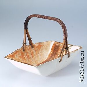 Bowl/Schale Steingutfabrik Sörnewitz Meissen SS L=20,4 cm Art Deco #656