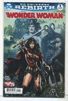 Wonder Woman #1 NM Rebirth  Cover C  DC Comics CBX8A