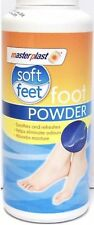 Masterplast Soft Feet Foot Powder Talc Soothes & Refreshes Eliminates Odour 170g
