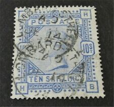 nystamps Great Britain Stamp # 109 Used $550