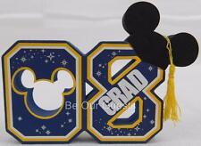 Disney Theme Parks Mickey 2008 08 Graduation Grad Antenna Car Pencil Topper New