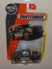 MATCHBOX '15 FORD F150 CONTRACTOR TRUCK ☆ CONSTRUCTION ☆ 2017 VHTF #47/125