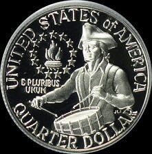 1976 S 40% Silver Washington Quarter Cameo Gem Proof
