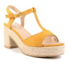 Scarpe da donna beige con tacco alto (8-11 cm) con a strappo