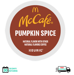 McCafe Pumpkin Spice Keurig Coffee K-cups YOU PICK THE SIZE
