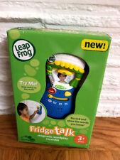 LeapFrog Fridge Talk Magnetic Wordplay Recorder New in Box