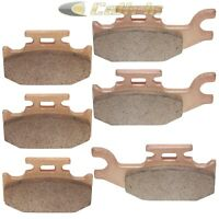Brake Pads FITS BOMBARDIER DS650 DS 650 Front Rear Brakes 2000-2007