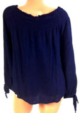 NEW American Rag Size 0x Navy Blue Boatneck Cropped Top NWT