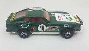 Matchbox superkings Datsun 240Z Rally Car k52