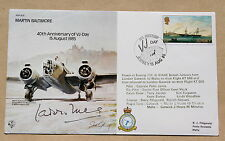 RAF B35 MARTIN BALTIMORE VJ DAY 1985 COVER SIGNED BY WING COMMANDER P B LUCAS