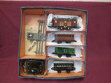 Bing,0 Gauge Electric Passenger Set Boxed.. Excellent Original Condition