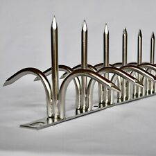 Shinobigaeshi Dual bladed Stainless 0.5m(19.68in) Security Fence Wall Spikes