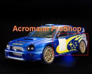 GDB WRC rally Side Door Decal Sticker for impreza wrx legacy sti GGB gc8 grb vab